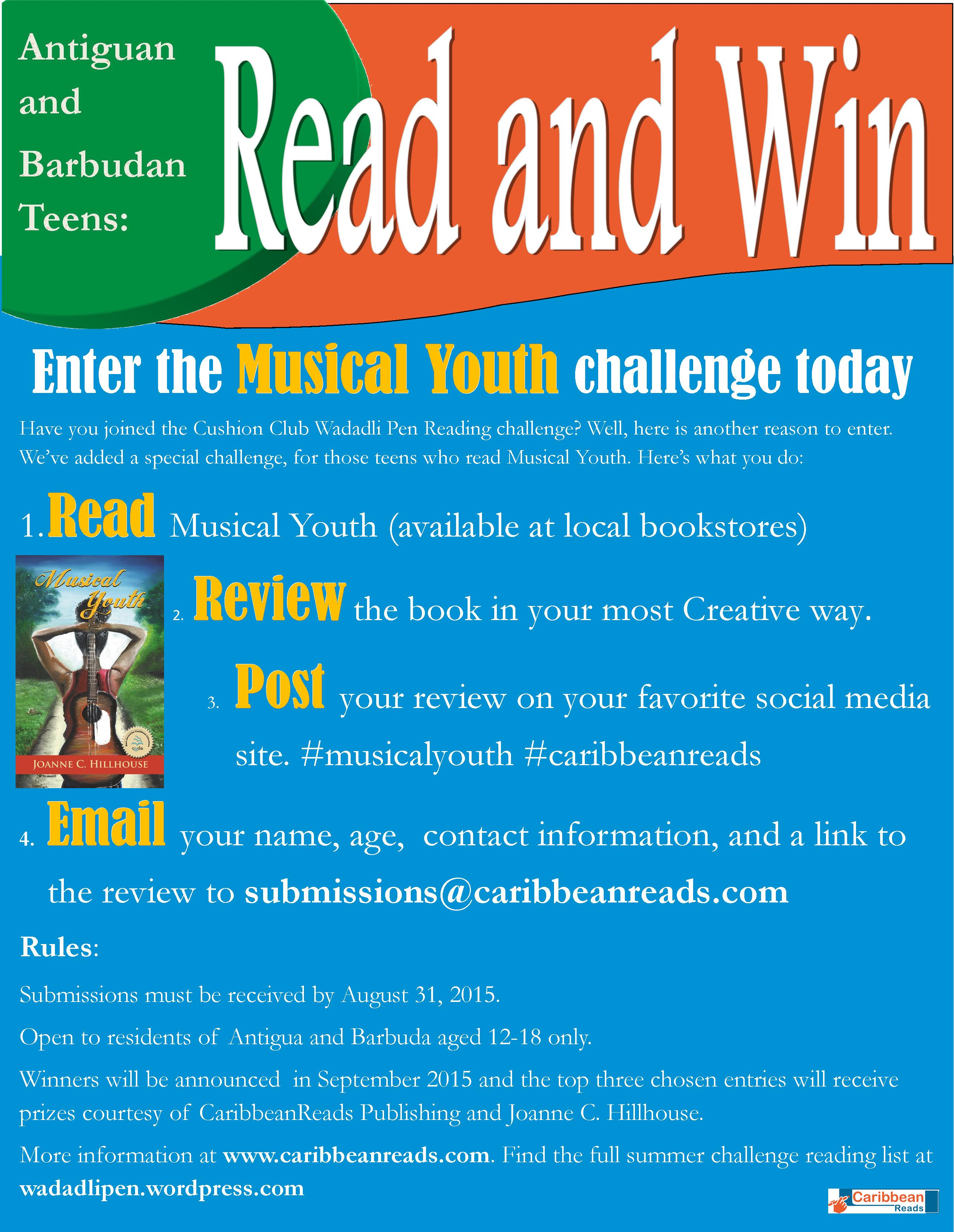 read and win  summer competition