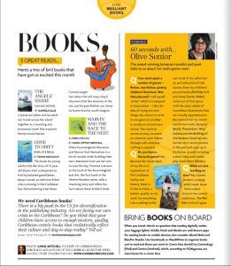 CaribbeanReads Zing Page July 2016
