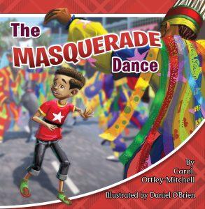 Masquerade Dance Egungun by Carol Mitchell children's books